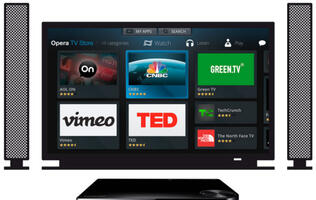 Opera TV Store Arrives on Selected Samsung Blu-ray Disc Players