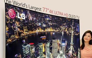 LG's 77-inch Curved OLED UHDTV to Make Another Appearance at CES 2014