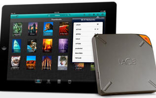 LaCie Reveals Fuel, 1TB Wireless Hard Drive for the iPad