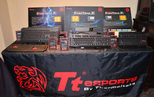 Tt eSPORTS to Unleash Fusillade of Gaming Peripherals at CES 2014
