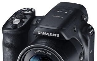 Samsung Announces Dual-Grip, 60x Optical Zoom Camera