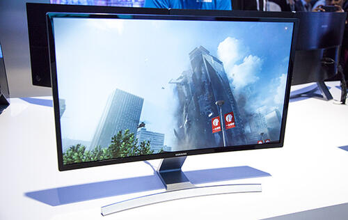 Samsung Reveals World's First Curved Monitor