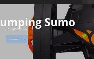 Parrot's New Gizmo - The Jumping Sumo!