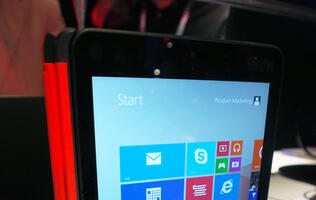 Lenovo's Thinkpad 8 Tablet Means Business