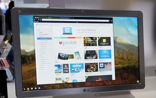 LG Debuts World's First Chrome-based Desktop AIO PC