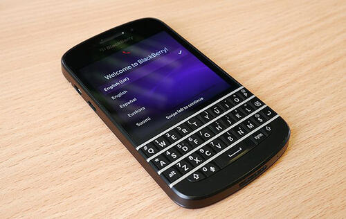 Blackberry Says it Will Focus on Devices with Hardware Keyboards