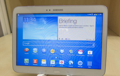 Samsung Galaxy Tab 3 (10.1-inch) with LTE Reviewed - Intel Inside