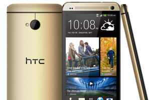 HTC One Gets a Golden Makeover for This Festive Season!