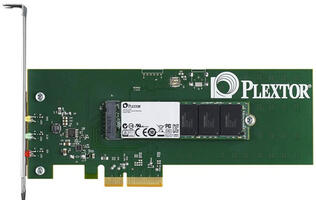 SATA Too Slow? Plextor Introduces New M6e PCI-e SSD for Gamers