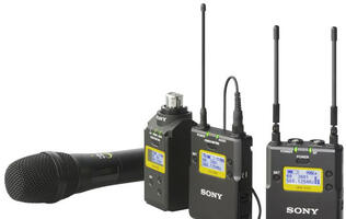 Sony Announces UWP-D Series of Professional Wireless Microphones