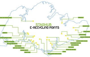Recycle Your E-waste at These StarHub Recyling Points!