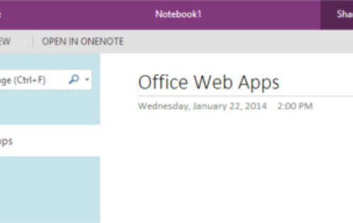 Microsoft Revamps Office Web Apps UI, Introduces New Features