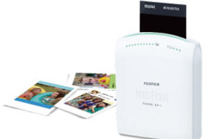Fujifilm Announces a Portable Instax Printer