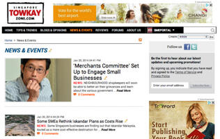 SPH Magazines Officially Launches SME Community Portal TowkayZone.com