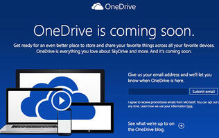 Microsoft Renames SkyDrive to OneDrive