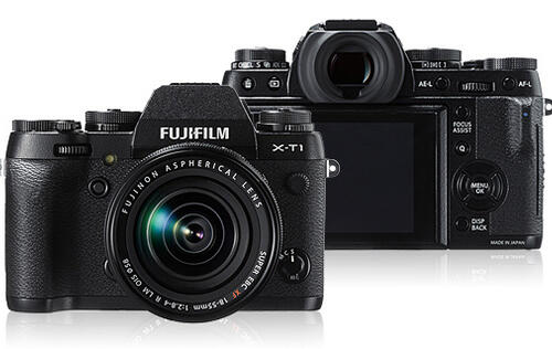 Fujifilm's X-T1 is a Retro Weather-Resistant Mirrorless Camera with a Large Viewfinder