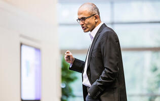 Satya Nadella is Microsoft's New CEO