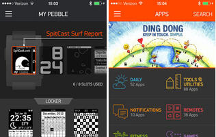 Pebble App Store Arrives on iOS, Android Version Coming 'Very, Very Soon'