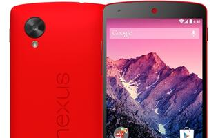 Red LG Nexus 5 Arrives Just in Time for Valentine's Day