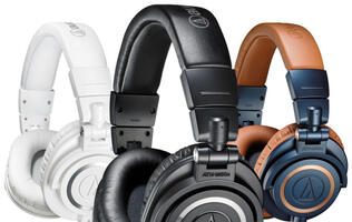 Audio Technica Launches Remastered Lineup of Its M-series Professional Monitor Headphones