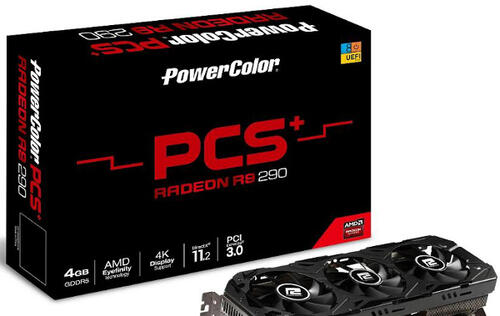 PowerColor PCS+ R9 290 4GB GDDR5 Overclocked Graphics Card Released