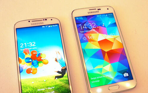 Hands-on: Samsung Galaxy S5