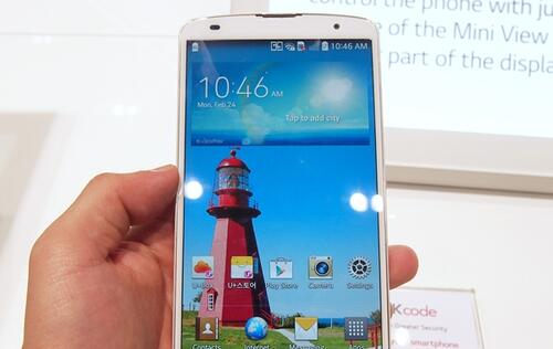 Hands-on: LG G Pro 2 and LG G2 Mini