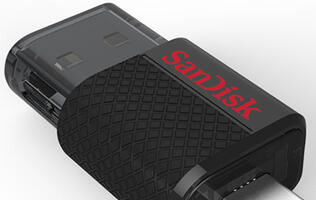 SanDisk Announces Its First Dual USB Drive and Premium USB 3.0 Flash Drive