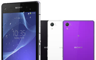 Sony Struts Waterproof Xperia Z2 with Ultra-HD Video Recording Capability & Mid-Range Xperia M2