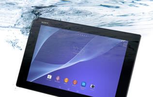 Sony Unveils Its 6.4mm-thin Waterproof Xperia Z2 Tablet