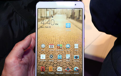 Hands-on: Huawei MediaPad X1