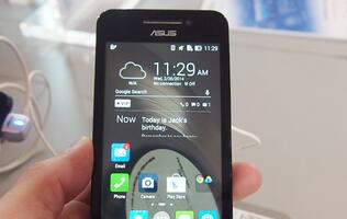 Hands-on: ASUS PadFone Mini and ZenFone Series
