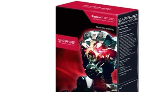 Sapphire Unveils AMD R7 240 2GB DDR3 Low Profile Graphics Card