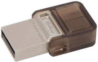 Kingston DataTraveler microDuo Expands Your Android Device's Storage by Up to 64GB