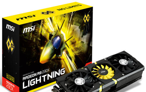 MSI R9 290X Lightning Graphics Card Announced