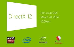 Microsoft to Unveil DirectX 12 at Upcoming Game Developers Conference