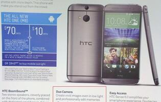 Function of Two Rear Cameras in New HTC One Detailed in Leaked Sales Guide