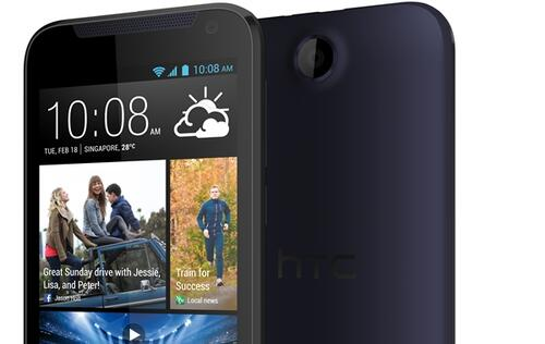 HTC Unveils Entry-Level Desire 310, Available in Singapore From March 29