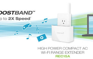 Amped Wireless Updates Its REC15A Range Extender with BoostBand Technology