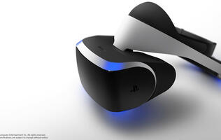Project Morpheus – Sony's VR headset  for the PS4