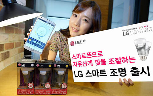 LG's Smart Bulb Is Able to Connect to Android and iOS Devices