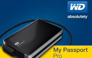 WD Introduces Thunderbolt-Powered Portable Dual-Drive, My Passport Pro (Updated)