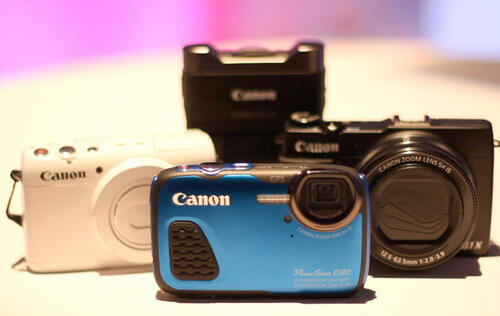 Canon Unveils their First Line-up of Compact Cameras for 2014
