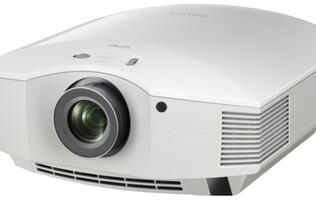 Sony Presents VPL-HW40ES Full HD 3D Home Cinema Projector