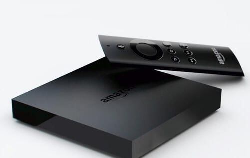 Amazon Launches Fire TV Set-top Box for US$99
