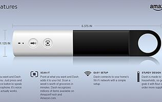 The New Amazon Dash Makes Quick Work of Grocery Shopping