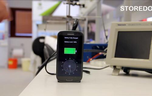 This Prototype Charger Will Fully Recharge Your Smartphone in 30 Seconds