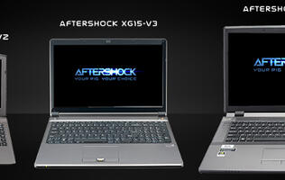 Aftershock XG Gaming Notebook Series Enhanced with NVIDIA GeForce GTX 860M
