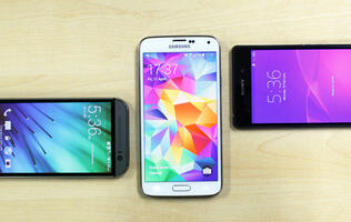 Showdown: HTC One (M8) vs. Samsung Galaxy S5 vs. Sony Xperia Z2