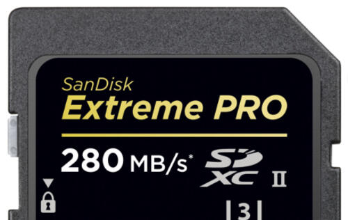 SanDisk Announces Its Fastest SD UHS-II Card, Extreme Pro